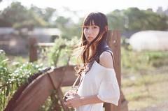 000064220026 (chengchenyuan) Tags: light portrait people sun film girl garden 50mm nikon f14 f100