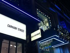 Ben Sherman (Applekris) Tags: street uk england london night lights store europe ben carnaby sherman