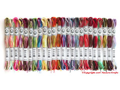 DMC Coloris Variegated Floss (Ancora Crafts) Tags: new thread rainbow crossstitch needlework embroidery needlepoint 24 variegated dmc floss coloris