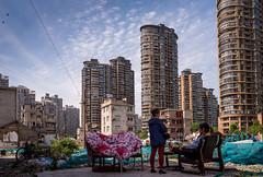 going the distance - Guangfuli (Rob-Shanghai) Tags: life china realestate shanghai towers property development leicaq guangfuli