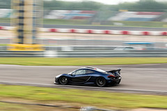 Panning (AaronChungPhoto) Tags: blue car turbo mclaren panning supercar v8 p1 nurburgring hypercar