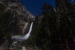 Moonbow @ Yosemite Lower Falls (letphotospeak) Tags: yosemite lowerfalls moonbow ef1740mmf4l lunarrainbow ef135mmf2l canon5dii ef2470mmf28iil letphotospeak