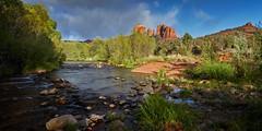 Oak Creek (another_scotsman) Tags: arizona river landscape sedona cathedralrock