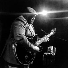 Big Chico (allansribeiro) Tags: bw musician music white black concert guitar live blues