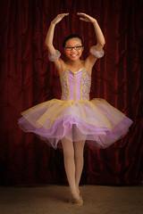 157:366 - Tiny Dancer (RedBoy [Matt]) Tags: ballet girl pose recital dancer tutu