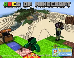 ABCs of Minecraft (GumbyBlockhead) Tags: 2016 summeracademy etfo minecraft mzmollytl minecraftedu gumbyblockhead minecrafted abcsofminecraft