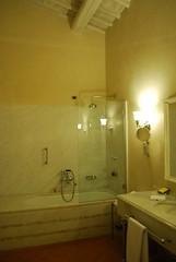Castello del Nero | Bathroom (non-suite) (Josh Friedman Luxury Travel) Tags: italy luxuryhotels 5starhotels florencevenice