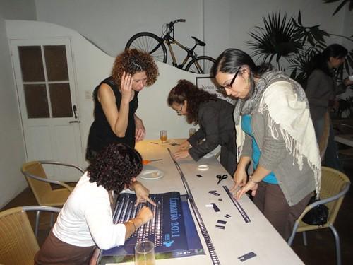 Construcción de calendarios culturales,presentación Lunario Tin Jo