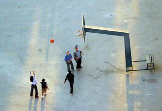 Basketball in Ramallah