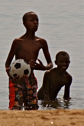 Innocent and Benoit, Lake Kivu