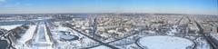 Snowy D.C. Panorama (Non Paratus) Tags: film washingtondc transparency scanned canonae1 eastman5247 dcwashingtonmonumentcityscapepanoramawintersnowslidefilmtransparencyscannedscancanonae1
