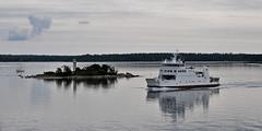 (Matti Mnttri) Tags: sea ferry meri mariehamn frja land lautta
