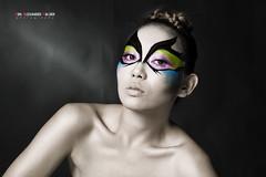 Butterfly1 (bonechx14) Tags: abstract beautiful make up butterfly ellen cool pretty von bone alexander avant garde strobe chiqui halder bonechx