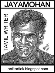 Writer JAYAMOHAN - Artist Anikartick,Chennai,Tamilnadu,India (INDIAN ARTIST GALLERY welcomes You - ANIKARTICK) Tags: writers writer tamil malayalam jayamohan famouswriter tamilwriter greatwriter indianwriters tamilbooks indianwriter tamilnovel tamilnovels tamilfamouswriters writerjayamohan jayamohannovels