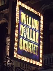 Noel Coward Theatre - St Martin's Lane, London - Million Dollar Quartet - sign