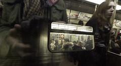 ISO 12800 (j2martinez) Tags: nyc newyorkcity people ny newyork apple digital portraits subway photography mac raw imac candid tint transit 7d mta dslr dtrain josemartinez highiso cr2 12800 cs5 iso12800 asa12800 jmartinez canoneos7d cameraraw63 acr63