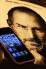 The Tech Icon and his Machine (Kawsar_K) Tags: apple iphone stevejob techlogy