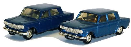 Fiat 1300 Norev pla&met 1