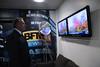 François Bayrou quelques minutes avant le début de lémission BFMTV 2012 dans les loges