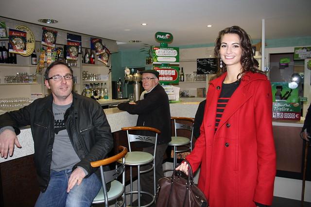 Miss pays de la Loire dans un café restaurant à Héric