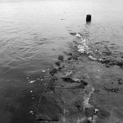 qu'est ce ? (Jean Christophe Rollet) Tags: sea mer brittany pierre bretagne mole bateau jete finistre sailingboat stpoldelon baiedemorlaix
