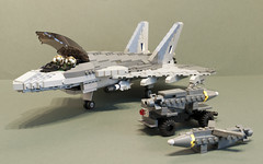 Vampires (Aleksander Stein) Tags: fighter lego military air attack jet ground swing eurofighter strike f2 tempest role ids superiority multirole twoengine