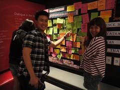 Happy Birthday DiD Bangkok! (Dialogue-in-the-Dark) Tags: thailand exhibition did venue dialogue clients guestbook dialogueinthedark didinternational