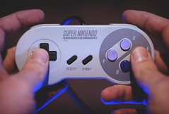 245 | 365 (Randomographer) Tags: 365days project365 snes supernintendo controller videogames hands fingers selfie randomographer plastic button game pad super nintendo retro gamer classic select start console dpad gaming 16bit home video famicom
