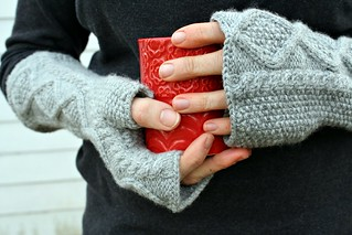 Shameless Mitts pattern by Stacey Simpson Duke