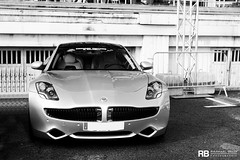 Henrik Fisker (Raphal Belly) Tags: paris cars car electric de french photography eos grey hotel riviera grigio photographie casino montecarlo monaco mc belly exotic 7d karma hermitage raphael luxury rb rocher fairmont spotting henrik supercars telethon raphal principality 2011 tlthon fisker grise principaut