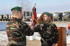 21  2011 / Moroccan COY Transfer of Authority, Dec. 21, 2011 (MNBG-E) Tags: army serbia morocco nationalguard kosovo coy moroccan pristina jrd kfor campbondsteel transferofauthority taskforcefalcon taskforceaviation taskforcetalon kosovoforces mnbge taskforcemed kfor15 kosovoforces15 mnbg mnbgeast 172ndpad taskforcemedical jointregionaldetachment campnovoselo