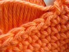 Orange Cotton Yarn