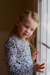 "Little girl dreaming by her window (IronRodArt - Royce Bair (""Star Shooter"")) Tags: window girl child little dreaming thinking wondering"