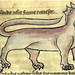 Manticore from a medieval manuscript
