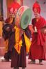 tibetan dances (rongpuk) Tags: people india mountains festival monastery monks tibetan himalaya tak ladakh gompa dances thok