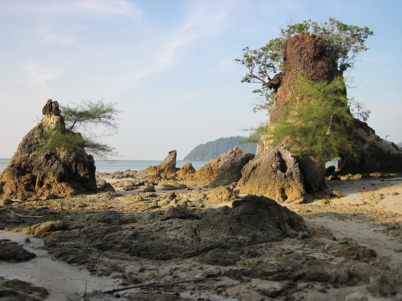 Rock formation photo Khao Kwai Hill beach