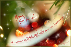 Happy New Year Flickr Friends (Imagemakercan - The Lensdancer) Tags: santa christmas decorations red white macro green love glass closeup sparkles reindeer fun snowflakes lights whimsy nikon holidays friendship bokeh balls newyear ornaments displays snowmen wishes merrychristmas magical blessed happynewyear 2012 bobbles seasonsgreetings glittering 2011 joygerow inthecompanyoffriends lensdancer photographingastore