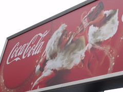 Coca Cola - Christmas is here - billboard - Gr...