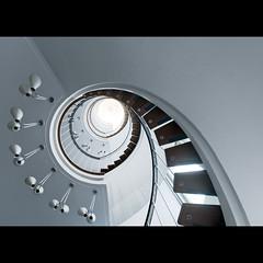 Auf gehts ins Neue l Happy New Year! (maxelmann) Tags: up stairs schweiz stair aarau stairway treppe ch treppengelnder treppenstufen maxelmann kasinostrase19