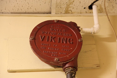 1971 Viking Corp Model D3 Water Motor Alarm