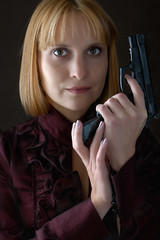 Girl with guns (be