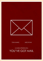 You've Got Mail (1998) (Jon Glanville) Tags: tomhanks megryan youvegotmail shoparoundthecorner foxandsons minimalistfilmposter dialupconnection