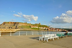 4594 (benbobjr) Tags: uk sea england beach port river coast seaside unitedkingdom harbour yorkshire north tourist dracula estuary resort northsea whitby northyorkshire whitbyabbey esk bramstoker riveresk streonshal