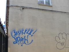 cash4 droid tags (httpill) Tags: streetart art brooklyn graffiti tag graf droid 907 cash4 rapgang httpill