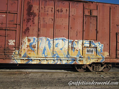 Norms (ottomattox) Tags: train graffiti streak boxcar sg 3f hobo freight aap norms americanidol moniker