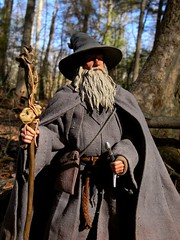 Gandalf The Grey (Wizard of X) Tags: actionfigure wizard gandalf lordoftherings peterjackson thehobbit sirianmckellen ianmckellen gandalfthegrey felowshipofthering gandalfthegray wizardofx