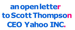 An Open Letter to Scott Thompson