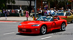 Dodge Viper, Summernats City Cruise (Canon-Kid) Tags: cars summernats citycruise