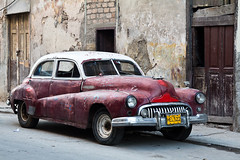 From Hell, par Franck Vervial (Franck Vervial) Tags: red car photography photo cuba hell plymouth 2011 decrepitude plymouthcar oldamericancar vervial