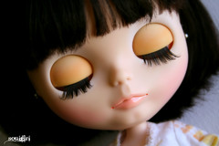 Maria Sophia's eyelids :)